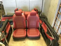 2017-2019 Lexus Rc350 Front And Rear Seat Set Interior Panels Oem 2018
