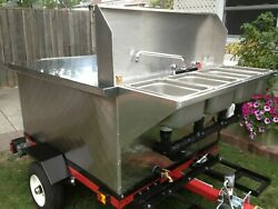 Nsf Hot Dog Mobile Food Cart Catering Trailer Kiosk Stand
