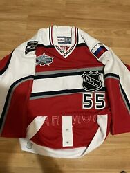 Auto Ccm 2001 Gonchar All-star Game Capitals Authentic Nhl Hockey Jersey 46