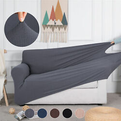 1 2 3 Seater Slipcover Sofa Covers Spandex Stretch Couch Furniture Protector