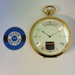 Charles Reuge Sainte Croix Rare Pocket/table Musical Watch With Box 759 Ar0