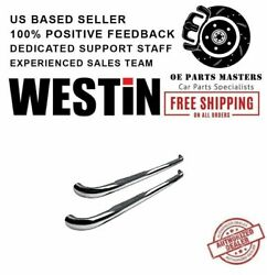 Westin 3polished Stainless For 2000-2006 Toyota Tundra E-series Round Nerf Bars