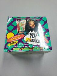 1991 Pro Set Yo Mtv Raps And Update Factory Sealed Box With 36 Packs