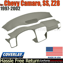Coverlay Combo Kit Taupe Gray 18-904c-tgr Dash/vent Cover For 97-2002 Camaro,ss