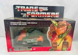 Transformers Original G1 1985 Deluxe Roadbuster Complete In The Box And Bubble