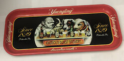 Yuengling Limited Edition Collector Series Beer Tray Dogs Run Tray