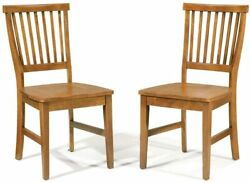 Arts And Crafts Cottage Oak Dining Chair By Home Styles