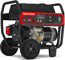 Craftsman 7000w Portable Generator With Co Detection Powered By Briggs And Stratt