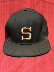"""Vintage Wool Embroidered """"s"""" Michigan State Spartans Fitted Ball Cap Hat 7 1/4"""