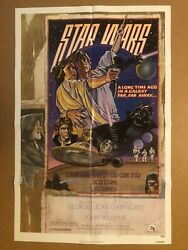 Star Wars Style D Circus Folded 1 Sheet Movie Poster Original Nss 1978 Issued