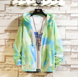 Summer Thin Menand039s Sun Protection Jacket Color Breathable Casual Jacket