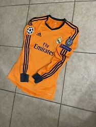 Real Madrid Ronaldo Player Issue Shirt Formotion Champions League Jersey