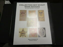 Collecting Boy Scout Rank Badges, Paul Myers, 2nd Edition In Binder  Bb