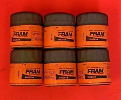 Case Of 6 Engine Oil Filter Extra Guard Fram Ph3614 For Toyota Chrysler Jeep