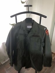 Vintage M-1951 M-51 Field Jacket Small Long Dated April 16th 53and039 Vietnam Korean
