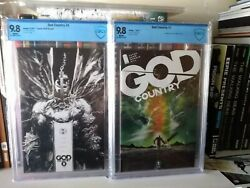God Country 1 Main Cover 5 Spawn Variant B/w Hot Key Image Comics Optioned