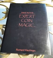 David Roth's Expert Coin Magic Book Stage Illusion