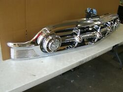 Restored Oem 1953 Chevrolet Bel Air Grille Assembly Chrome Trim Moulding Chevy