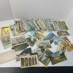 Huge 150+ Antique Post Card Postcard Lot Early 1900's Some Used Some Unused