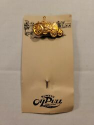 Advanced Rumley Gas Engine Oil Pull Tractor Advertising Stick Pin Original Card