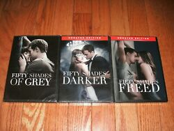Brand New Sealed. Fifty Shades Trilogy On Dvd. Of Grey Darker And Freed.