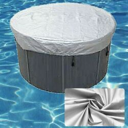 Round Tub Cover All-weather Protector-spa Cover Guard Oxford Cloth Full Size