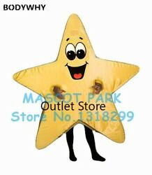 Easter Star Mascot Costume Sale Cartoon Star Theme Cosplay Carnival Party