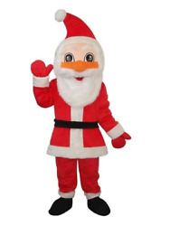 Santa Claus Mascot Costume Adult Cosplay Party Game Dress Carnival Event Outfits