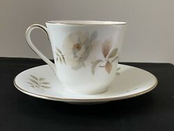 Royal Doulton Yorkshire Rose 1977 H5050 Teacup And Saucer