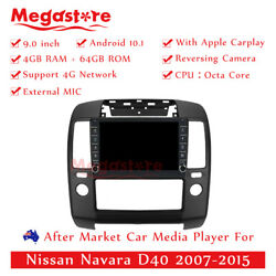 9 Octa Core Android 10.1 Car Non Dvd Media Player Gps For Nissan Navara D40