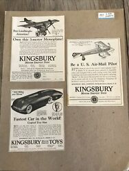 1927 Toy At Kingsbury Motor Driven Toys Fd22