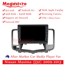 9 Octa Core Android 10.1 Car Non Dvd Media Player Gps For Nissan Maxima J32