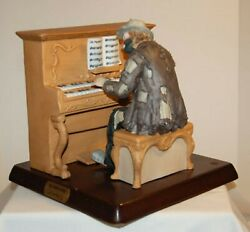 Emmett Kelly Jr The Piano Player Collector Figurine By Flambro