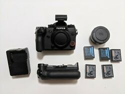 Fujifilm X-h1 Camera Kit For Sale Body Grip Canon To X Mount Adapter + More