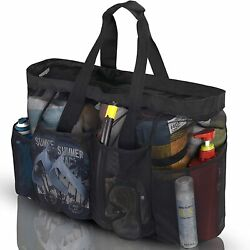 Bulex Extra Large Beach Bags and Totes XXL Mesh Tote Bag with Pockets amp;... $22.95
