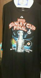 Chicago Blackhawks T-shirt - 2010 Stanley Cup Final - Majestic- 2xl - Pre-owned