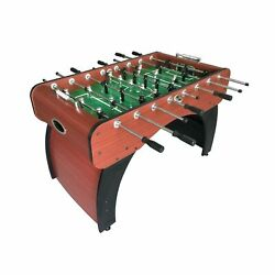 Hathaway Metropolitan Foosball Table Modern Soccer Game Table For Kids And A...