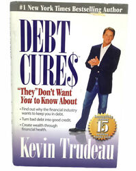 Debt Cures They Don't Want You To Know About Book Personal Finance Kevin Trudeau