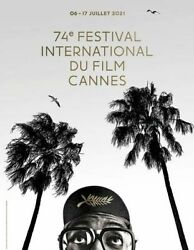 Affiche Festival Cannes 2021 Roulee 60x40 Cm Movie Poster Spike Lee