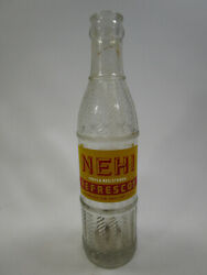 Rare Vintage 1940's Acl Nehi Soda Bottle Panama Canal South America