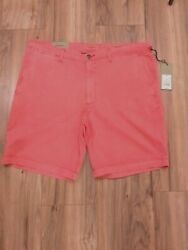 Nwt Goodfellow And Co Menand039s 9 Dusky Pink Linden Flat Front Shorts Size 38