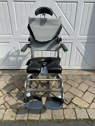 Rehab Shower Commode Chair Raz-at Lots Of Options. Mint Used Condition
