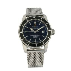 Breitling Super Ocean A17321 Stainless Steel And Black 42mm Case With 21cm Strap
