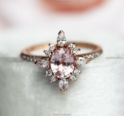 Gift For Her 14k Yellow Gold Sapphire Diamond Vintage Style Crown Wedding Ring