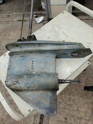 Lower Unit For A V-4 Evinrude Or Johnson Outboard Motor 1973 To 76
