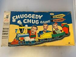 Rare Vintage 1955 Chuggedy Chug Paul Winchell Jerry Mahoney Complete Wow Game