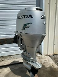 2000 Honda 90hp 90 Hp Outboard Engine - 4 Stroke - Low Compression