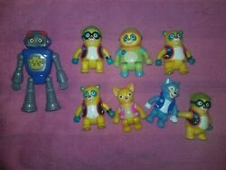 Lot Of Special Agent Oso Toys And Characters Figures Set Disney Jr Rare