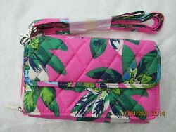 Vera Bradley All In One Crossbody for iPhone 6 TROPICAL PARADISE NWT $68 15863 $22.00