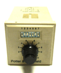 Potter And Brumfield Cns-35-72 Programmable Time Delay/4 Function Adj Timer
